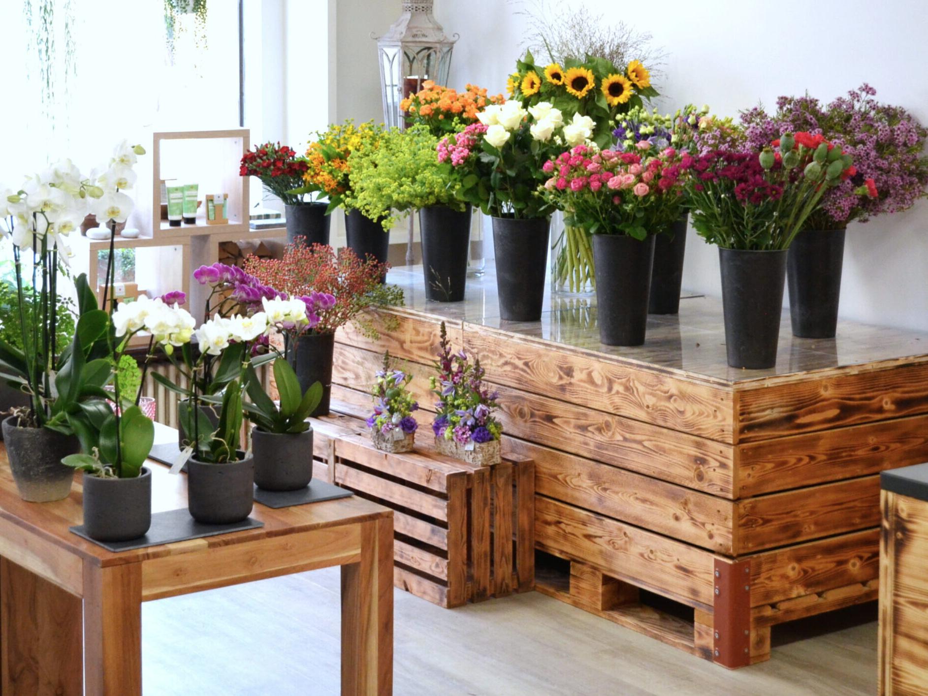 Floristik im Blumengeschäft BluemeGärtli in Magden Rheinfelden